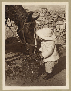 horse and child